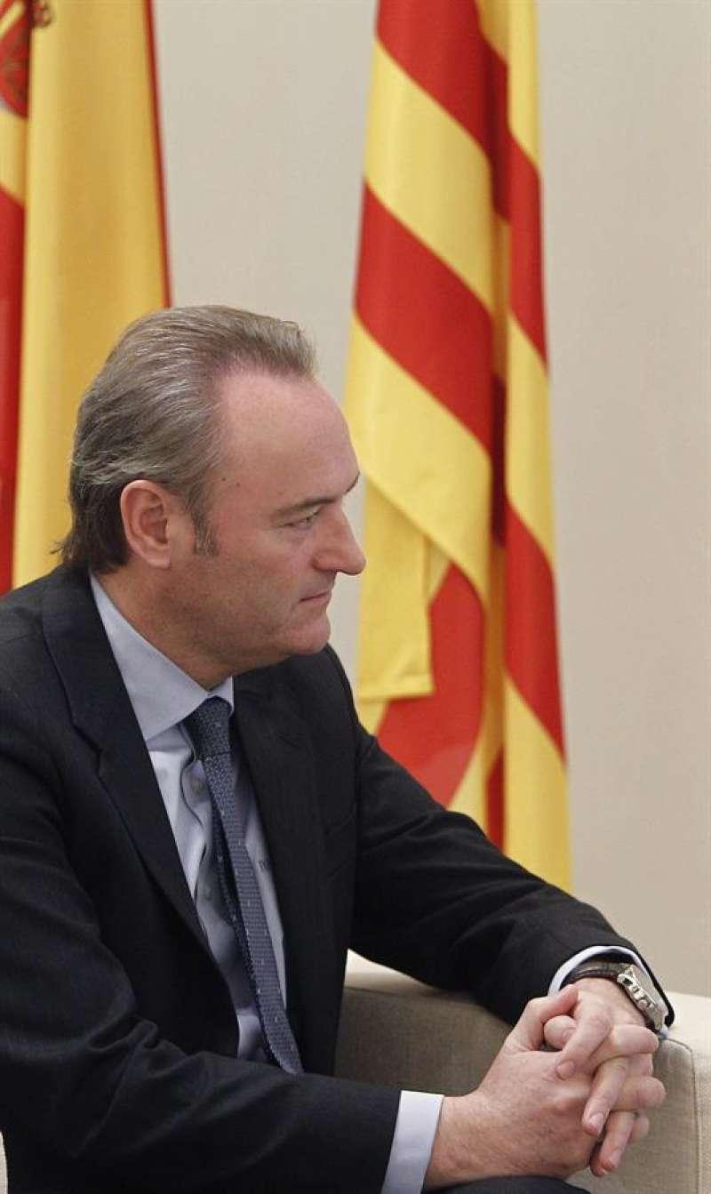 El ex-presidente de la Comunidad Valenciana, Alberto Fabra. (Archivo) EFE/Ballesteros