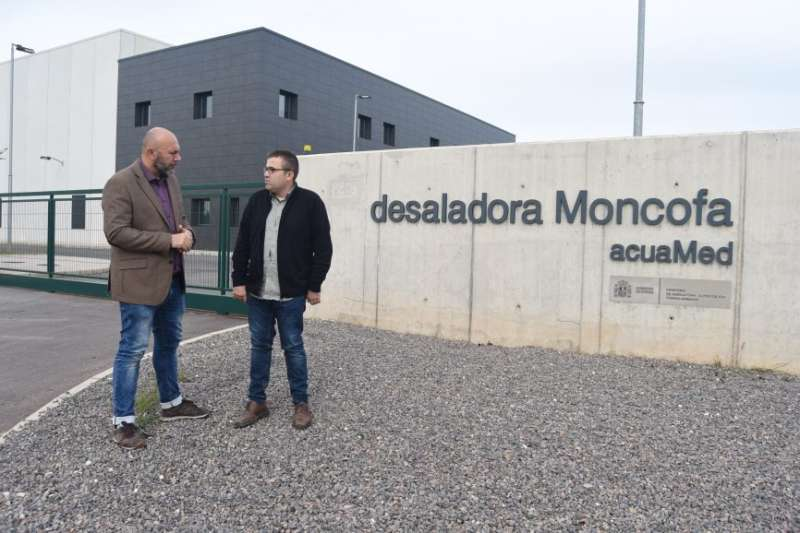 El diputat d?EUPV en el Congrés dels Diputats, Ricardo Sixto, juntament amb el portaveu del grup municipal d?EUPV en l?Ajuntament de Xilxes, Erik Segarra