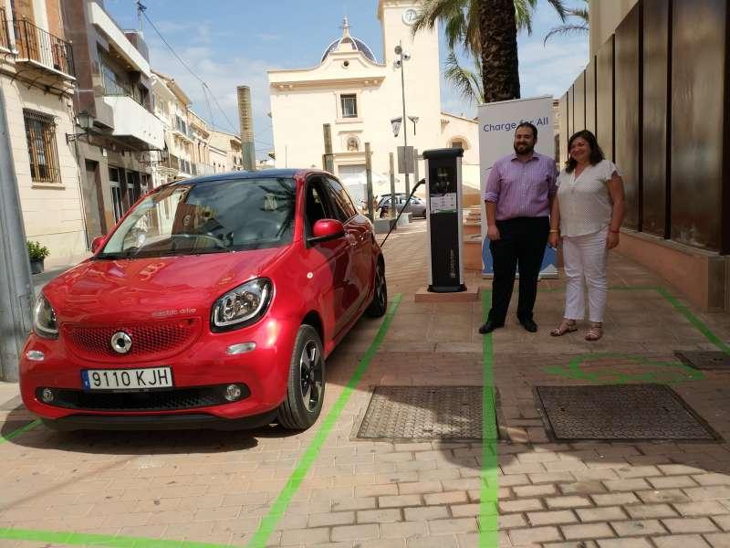 Punt de recàrrega de vehicles elèctrics