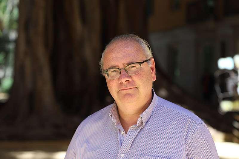 El diputado de Ciudadanos en Les Corts valencianas, Vicente Fernández. EPDA