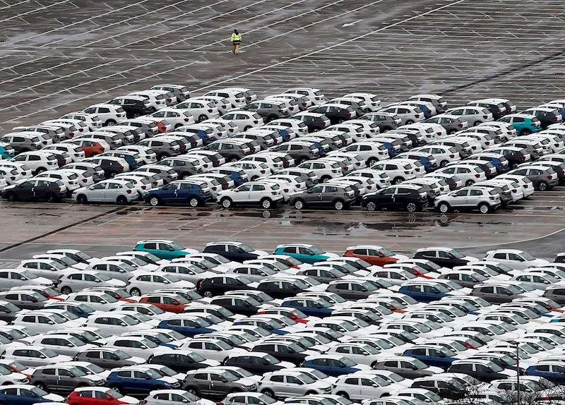 Imagen de las instalaciones de una empresa de automoción. EFE