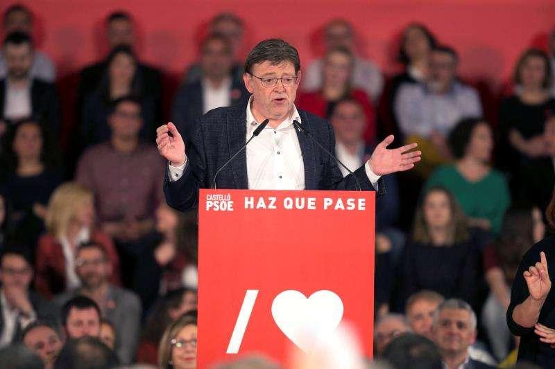 El president de la Generalitat y secretario general del PSPV-PSOE, Ximo Puig, en una imagen reciente. EFE