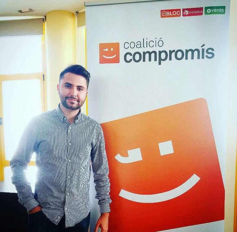 José Gea, coordinador general de Joves amb Iniciativa-Compromís Alcàsser. EPDA