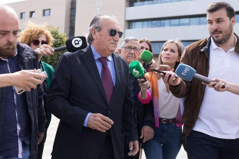 El expresidente de la Diputación y del PP de Castellón Carlos Fabra. EFE