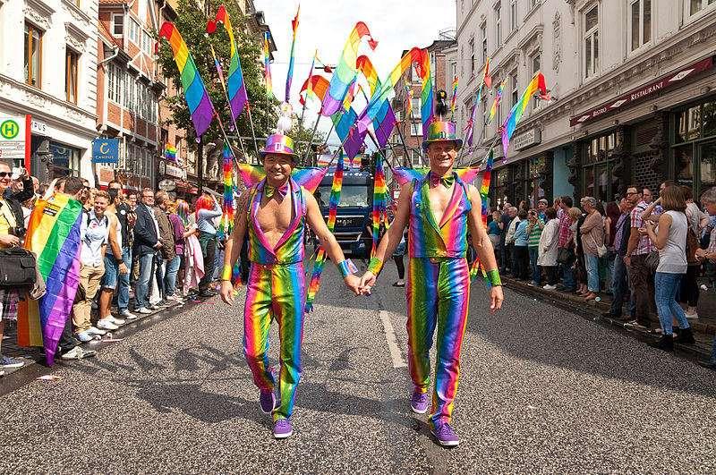 Desfile del Orgullo LGTBI en Hamburgo. FOTO: commons.wikimedia.org