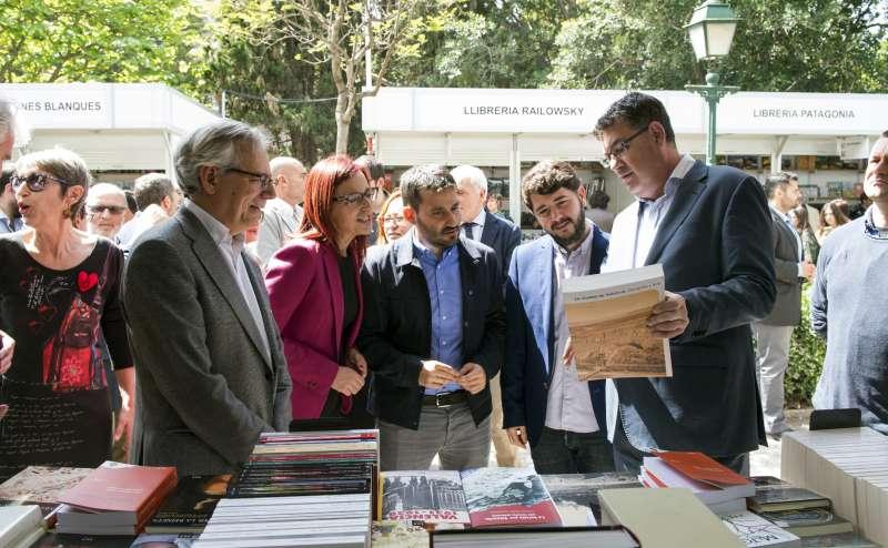 Inauguració de la 53a edició de la Fira del Llibre de València.