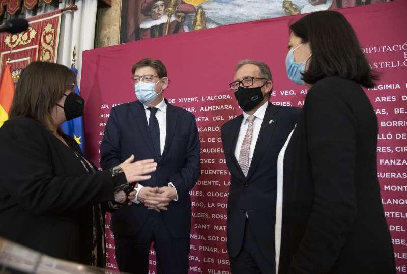 Visita de Ximo Puig a la Diputación