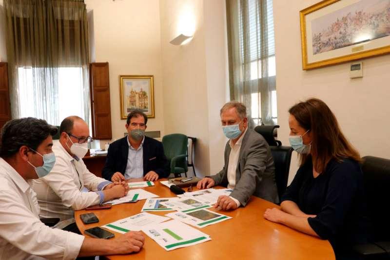 Reunión para la previsión del proyecto. EPDA.
