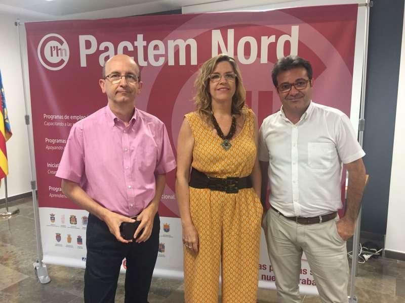 Jornada Pactem Nord con gerentes de ASIVALCO y AUPIM.