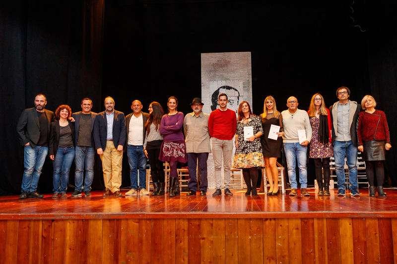 Ganadores y jurado de los Premios de Literatura Breve de Mislata. EPDA