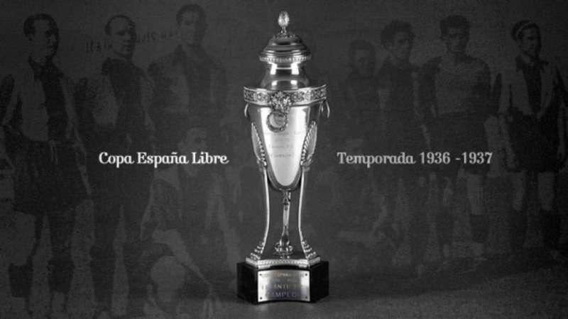 Imagen archivo de la copa de campeones en el 37. -EPDA