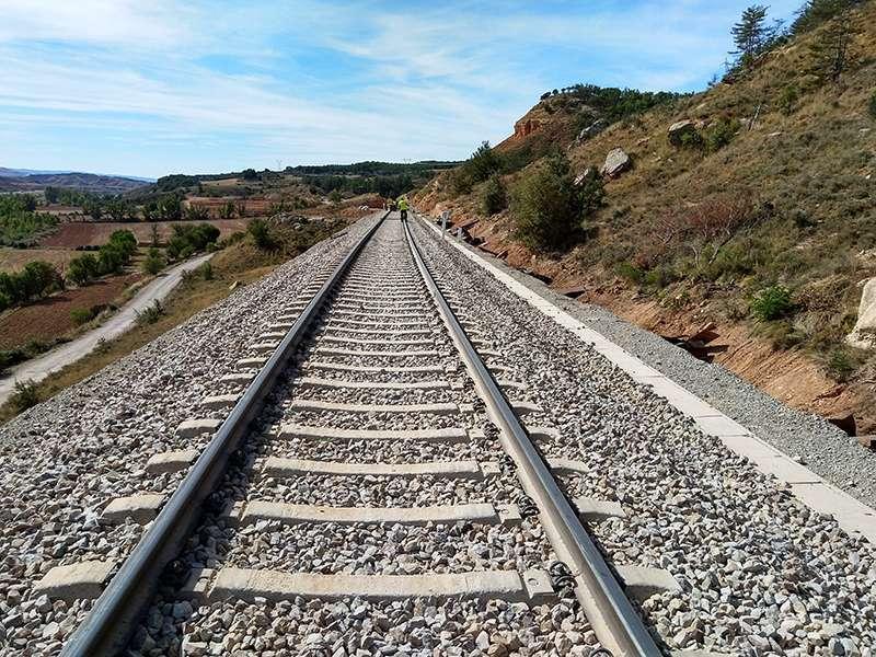 Línea Zaragoza-Teruel-Sagunt. EPDA