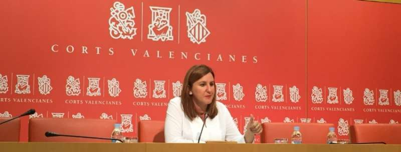 La portavoz adjunta del Grupo Popular en Les Corts Mª José Català.