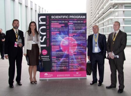 La secretaria autonómica de Sanitat, Nela García, inaugura el Simposio Internacional de Neurorrehabilitación. Foto EPDA