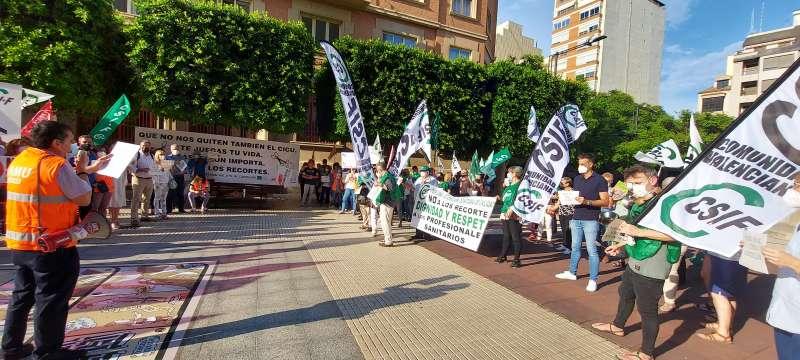 Protesta. EPDA
