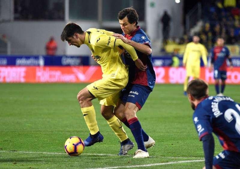 El Villarreal vivió una segunda mitad de año aciaga. EFE/Archivo