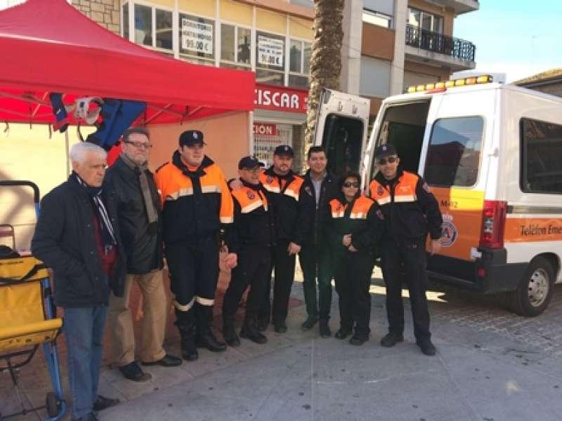 Jornada de puertas abiertas de Protección Civil. EPDA