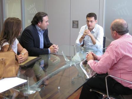 Imagen de la reunión con SAAV. Foto: EPDA.