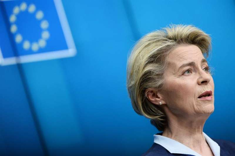 La presidenta de la Comisión Europea, Ursula von der Leyen. JOHANNA GERON