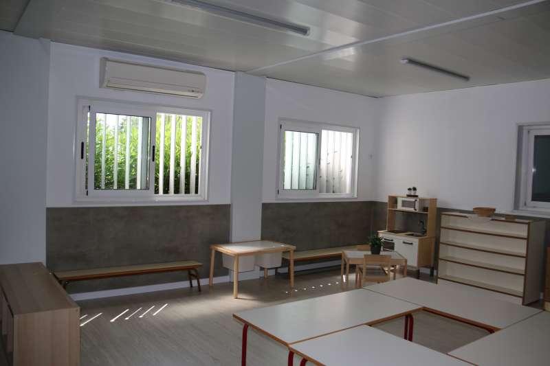 Remodelación de tres centros educativos
