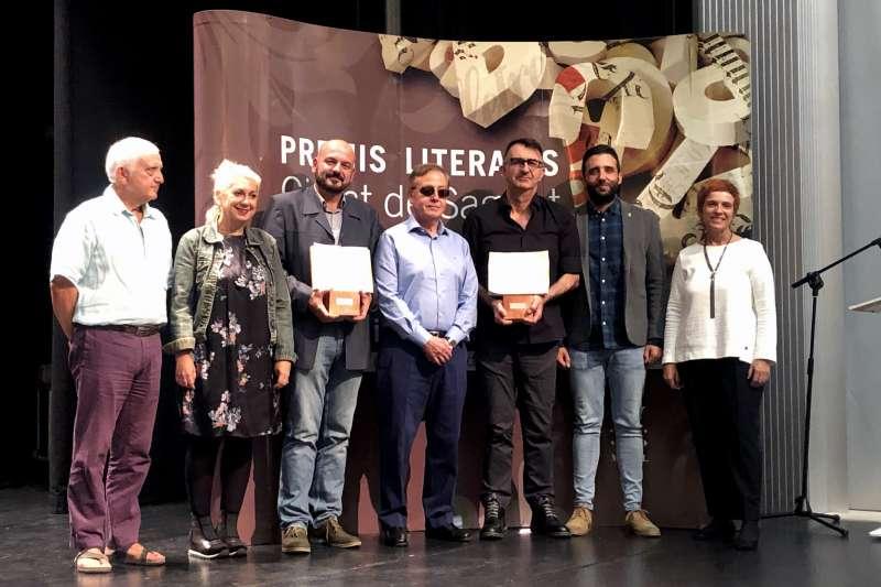 Foto familia de los premiados. EPDA