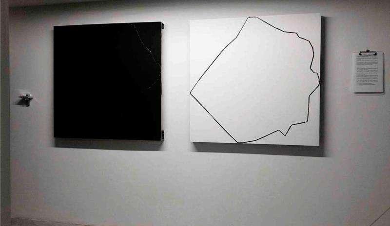 Obra de José Maldonado, en una imagen de la generalitat.