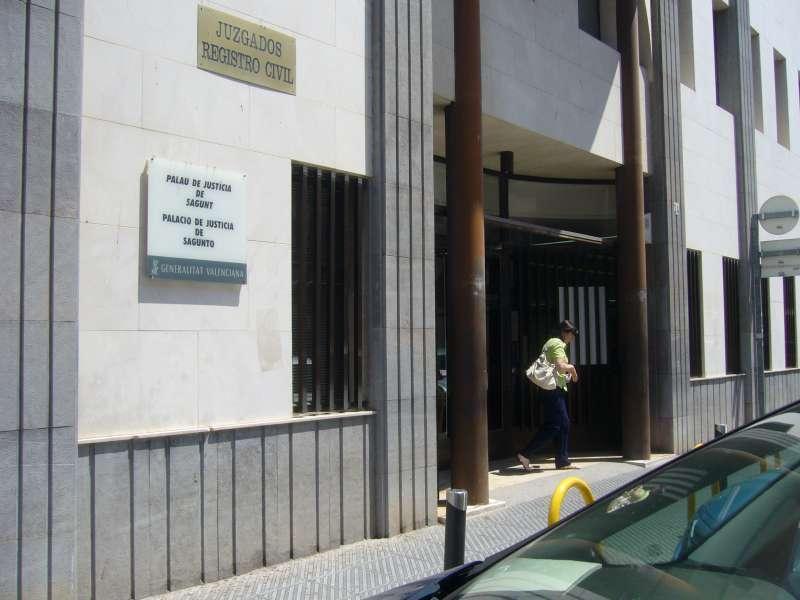 Sede actual de los juzgados de Sagunt.