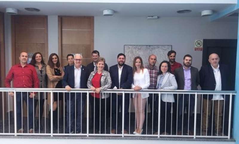 Participantes en el proyecto. EPDA