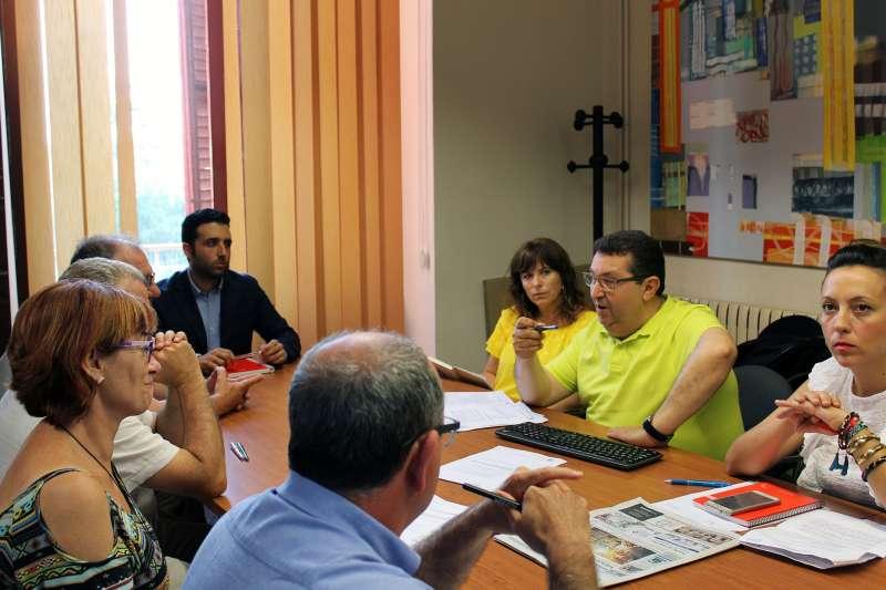 El alcalde en la Junta de Gobierno de Sagunt. EPDA