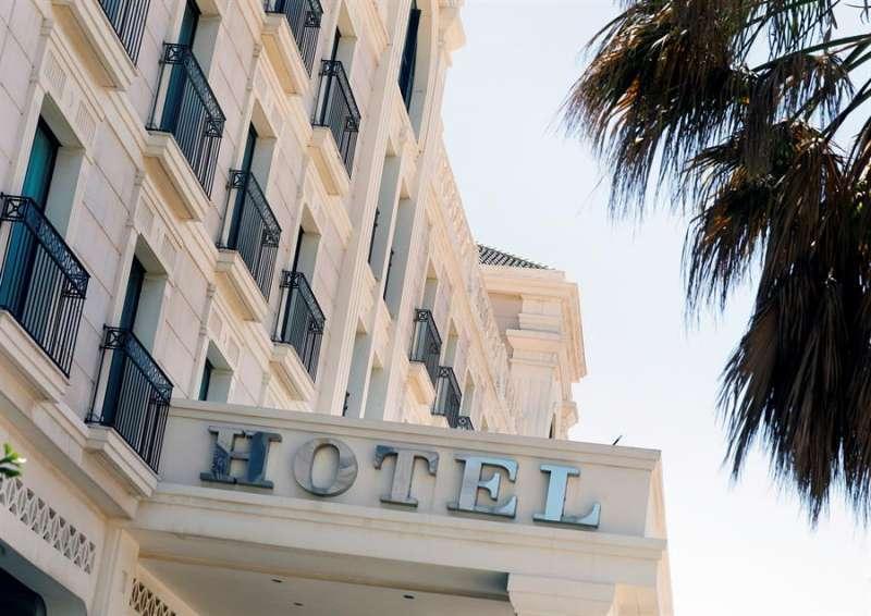 Un hotel en una imagen de archivo. EPDA