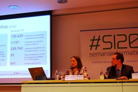 La directora general de Tecnologías de la Información, Sofia Bellés. Foto EPDA