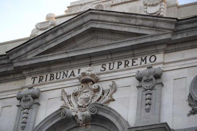 Fachada del Tribunal Supremo. EFE/Archivo