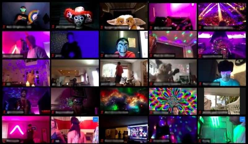 Sala para eventos / Autor: Cuarentena_club