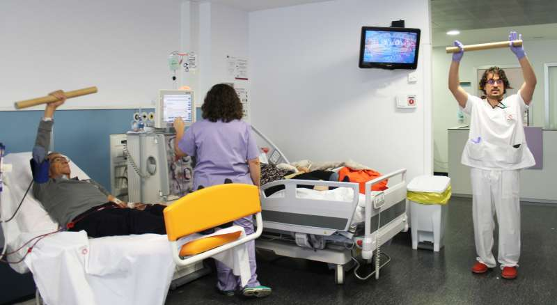 Programa de ejercicios en el Hospital de Vinalopó.