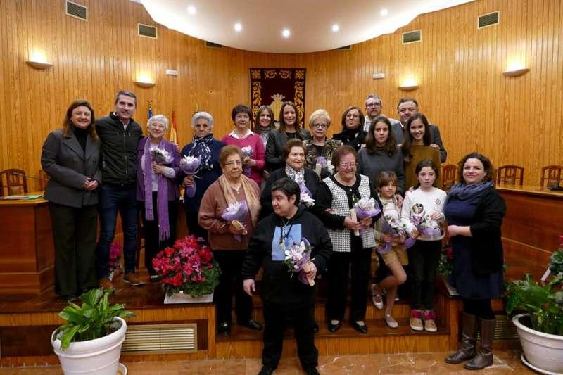 Homenaje a mujeres en Moncada. EPDA