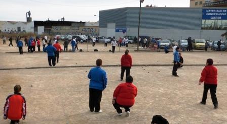 Competiciones de petanca en Paiporta. Foto EPDA