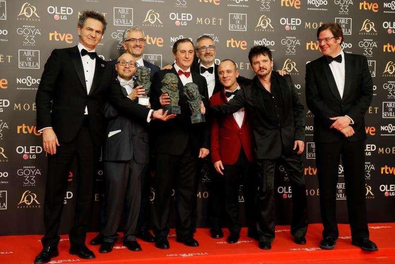 Premio a la mejor película. EFE
