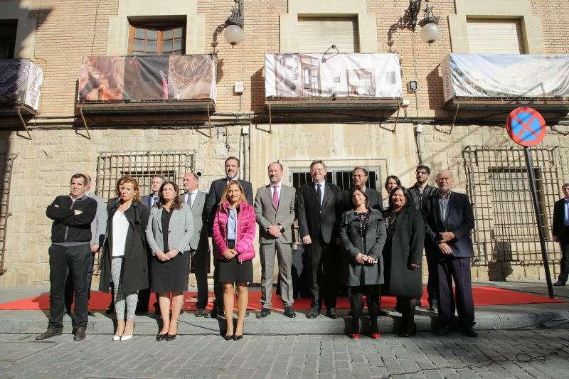 Ximo Puig y el gobierno local de Orihuela. EPDA