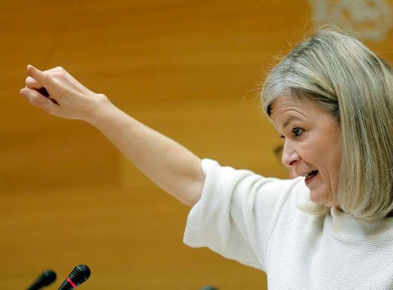 La consellera de Justicia, Gabriela Bravo. EFE/Juan Carlos Cárdenas/Archivo
