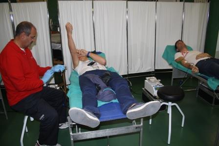 Durante el año 2012 donaron sangre en el Hospital 1.968 personas. FOTO: EPDA.