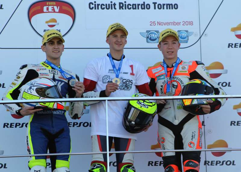 David Salvador 3º European Talent Cup