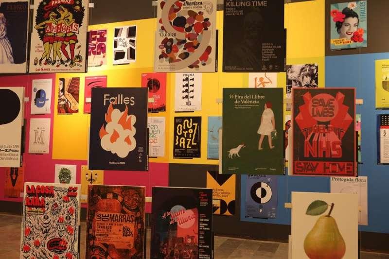 Imagen de las exposiciones sobre carteles que inaugura este viernes el Centre del Carme. EFE/Consorci de Museus