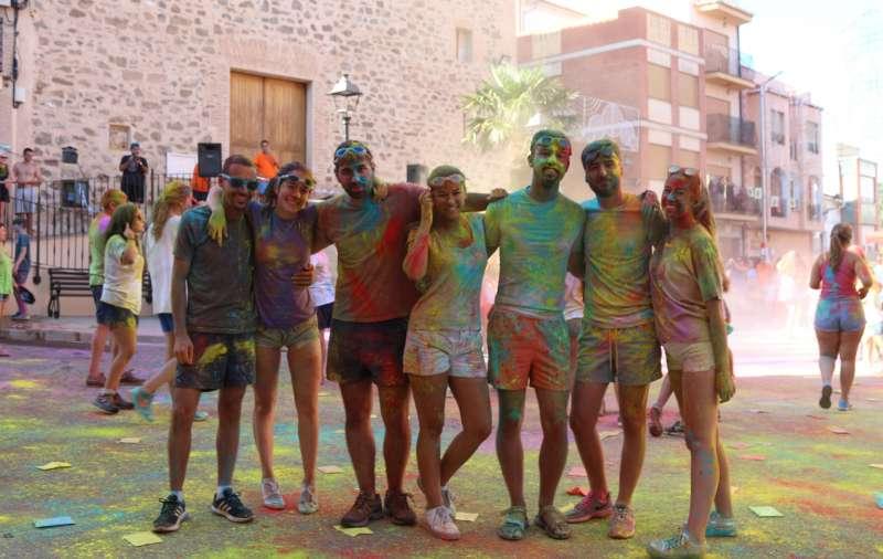 Carreras de colores en Torás