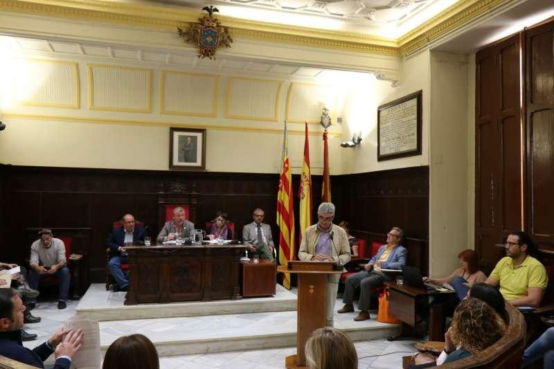 Pleno del Ayuntamiento de Sagunt