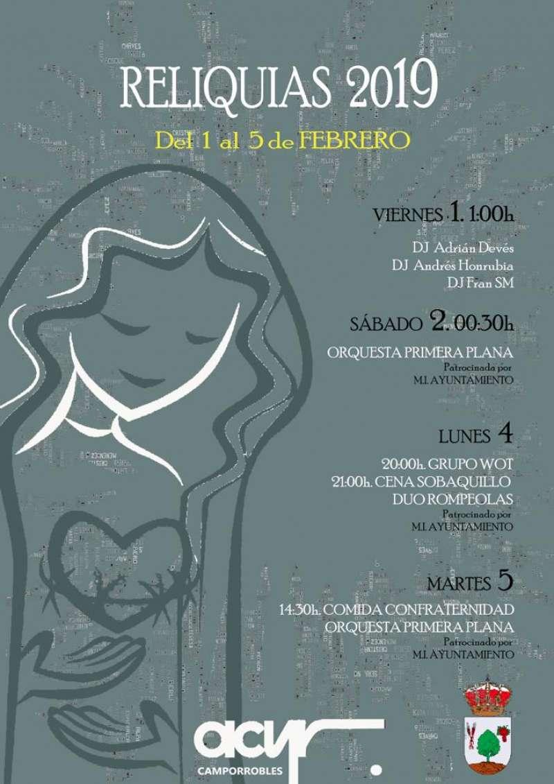Cartel Reliquias 2009