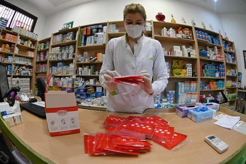 Una farmacéutica. EFE