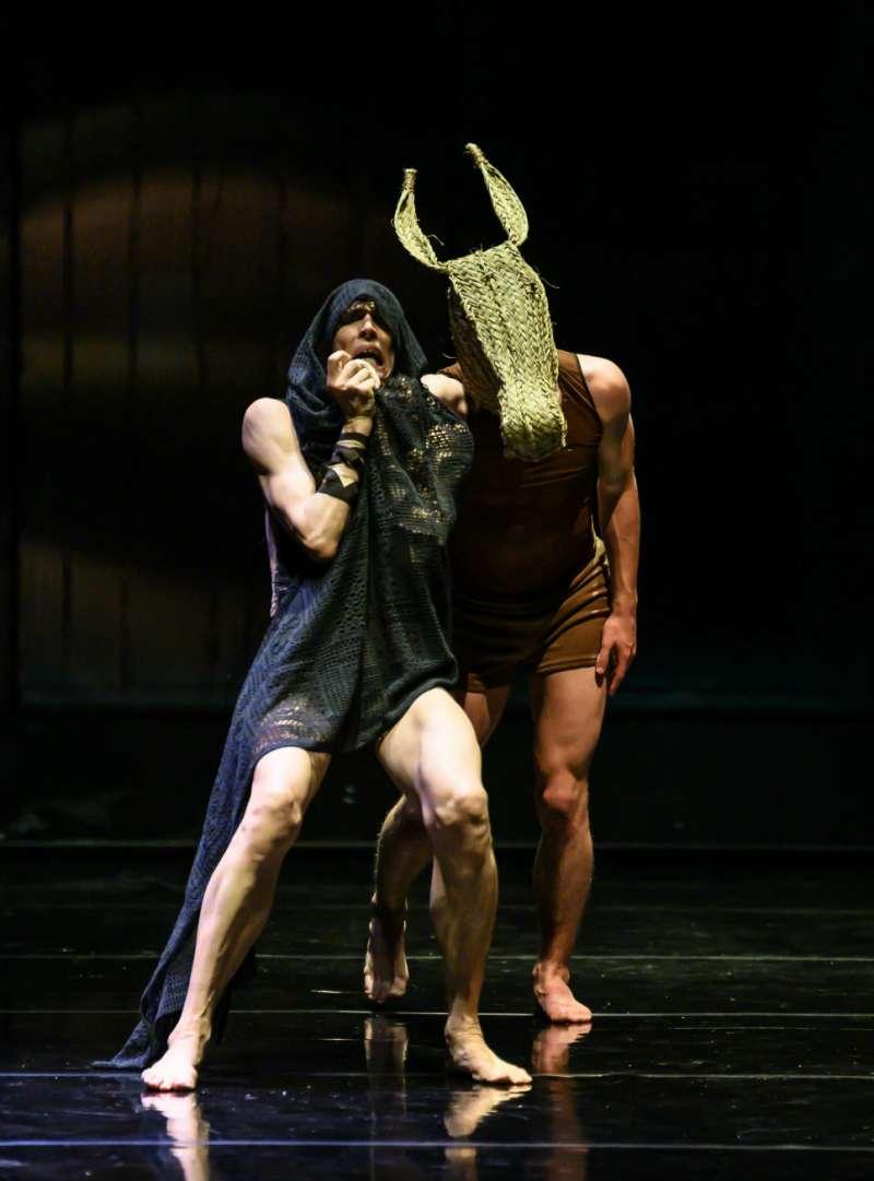 Unas de la sobras presentadas en el Festival de Danza./epda