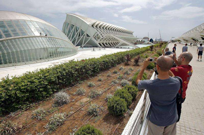 Vista de laCiudad de las Artes y las Ciencias de València. EFE/Archivo