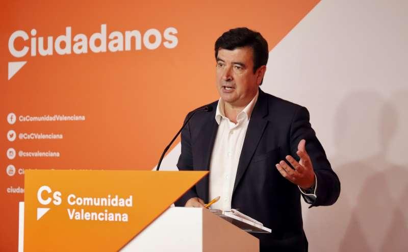 El portavoz de Ciudadanos, Fernando Giner