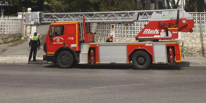 Imagen de un camión de bomberos. EFE